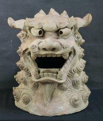 Giant Shishi lion 1900